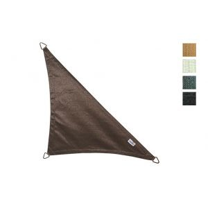 Voile protection solaire triangle 90° 4 x 4 x 5,7